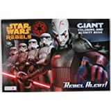 Star Wars Rebel Alert Giant Coloring and Activity Book