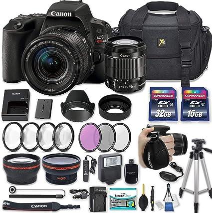 Amazon.com: Canon EOS Rebel SL2 - Cámara réflex digital con ...