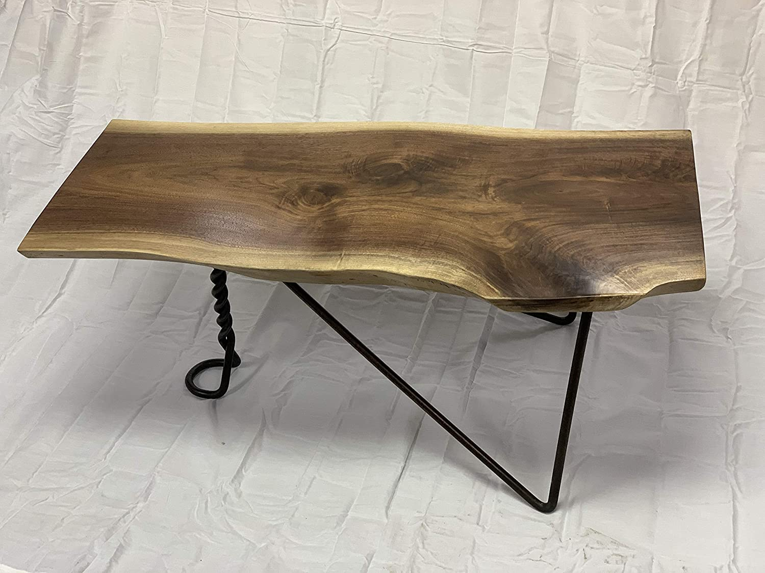 Amazon Com American Walnut Live Edge Coffee Table Handmade