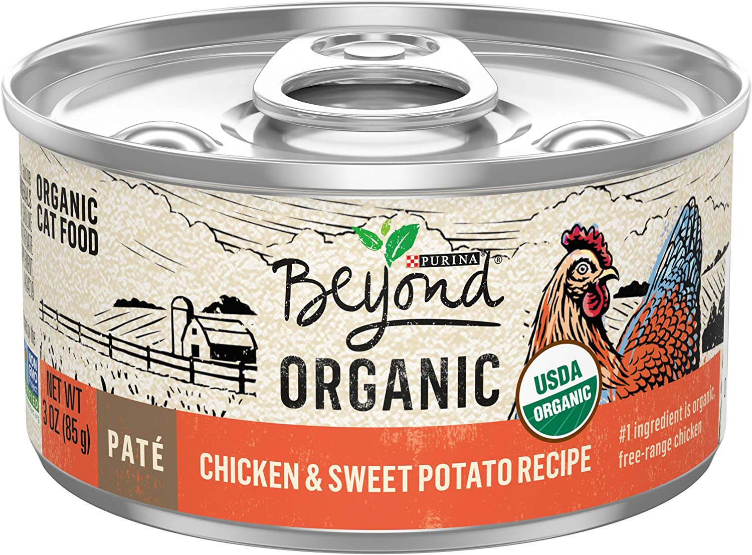 Purina Beyond Natural, Adult Wet Cat Food Pate