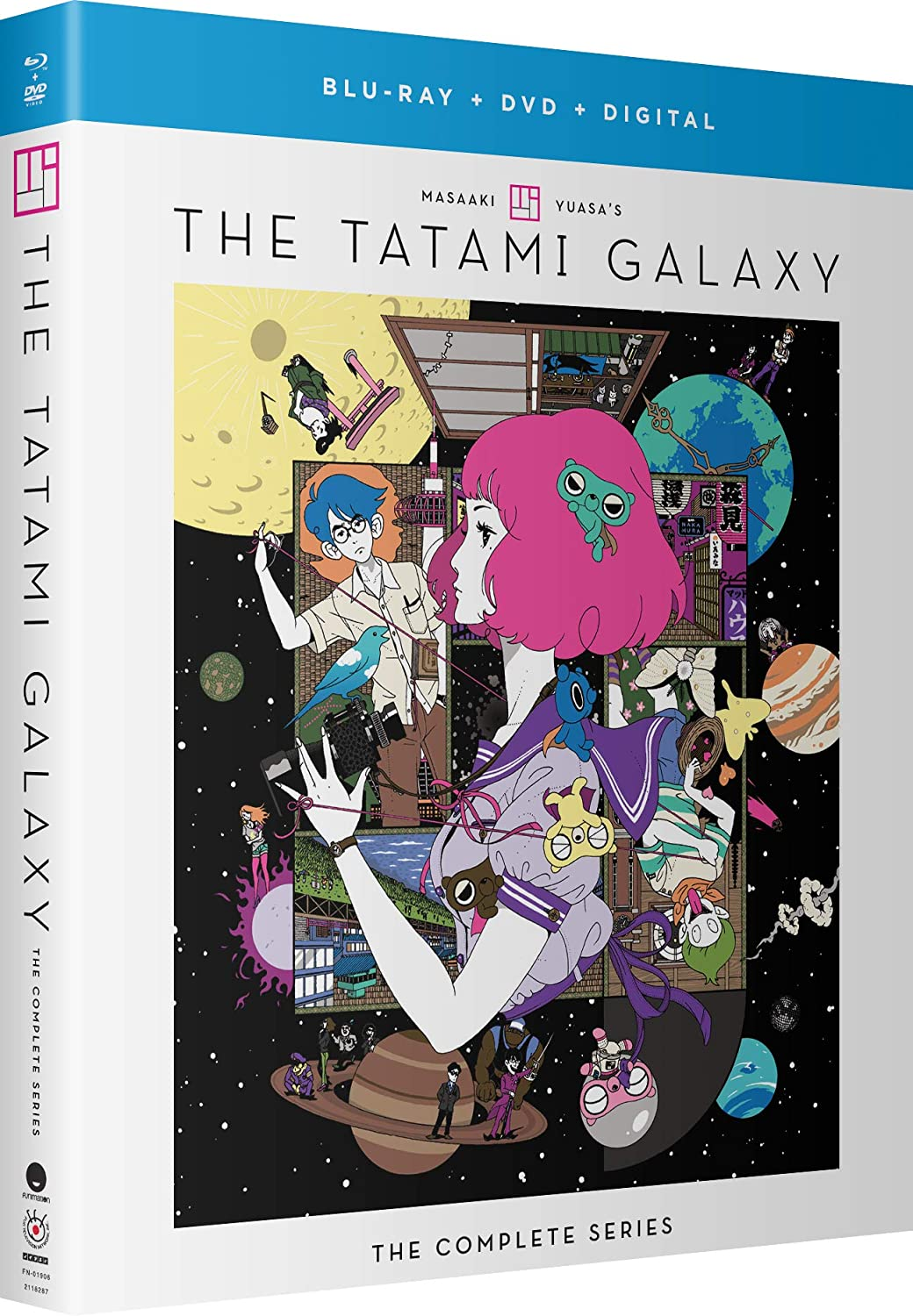 The Tatami Galaxy: The Complete Series - Blu-ray + DVD (Subtitled Only) + Digital