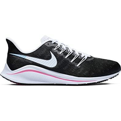76cf6996eef Image Unavailable. Image not available for. Color  Nike Air Zoom Vomero 14  Women s Running Shoe Black Hyper Pink-Football ...