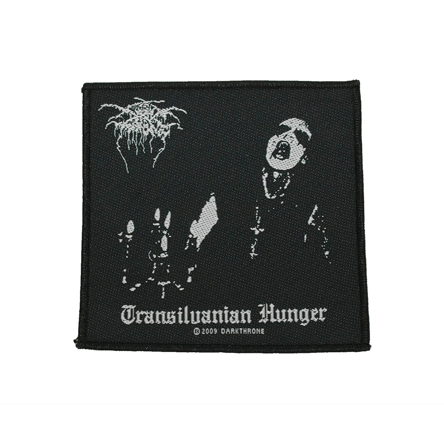 Darkthrone: Transilvanian Hunger Black Metal Band Woven Badge Applique Patch