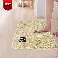 HOKIPO Anti Slip Bath Rugs and Mats for Bathroom, 60x40 cm
