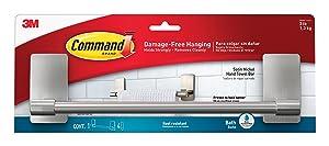 Command Damage-Free Hand Towel Bar
