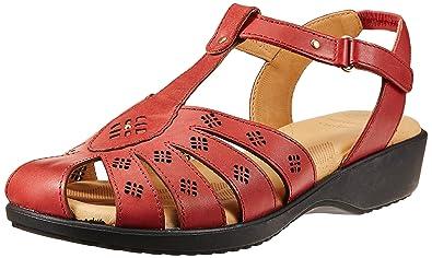 Scholl Women's Paris Closed Sandal Leather Fashion Sandals Women's Fashion Sandals at amazon