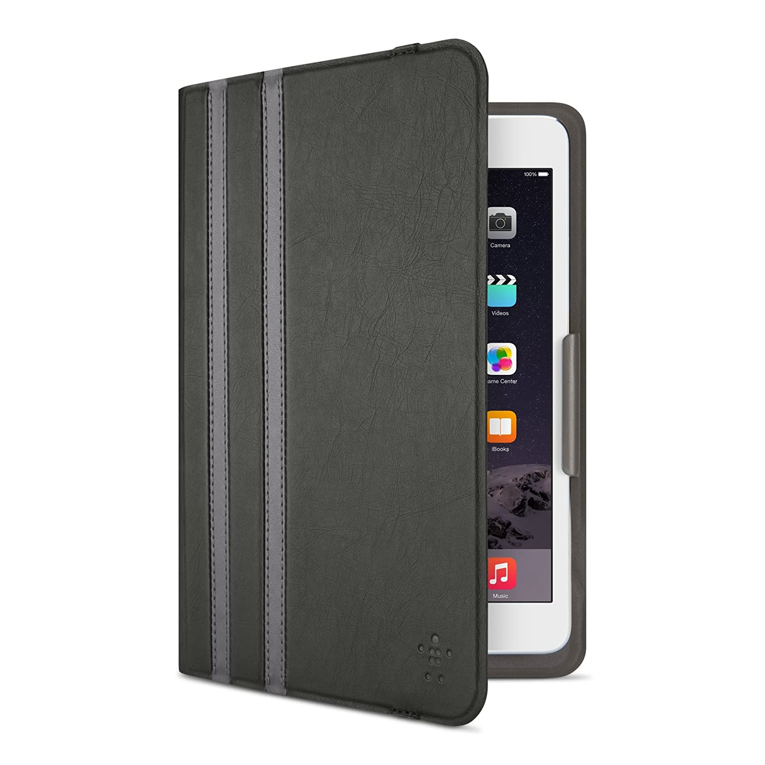 Belkin 8 Twin Stripe Cover for iPad Mini 1/2/3/4 in Black