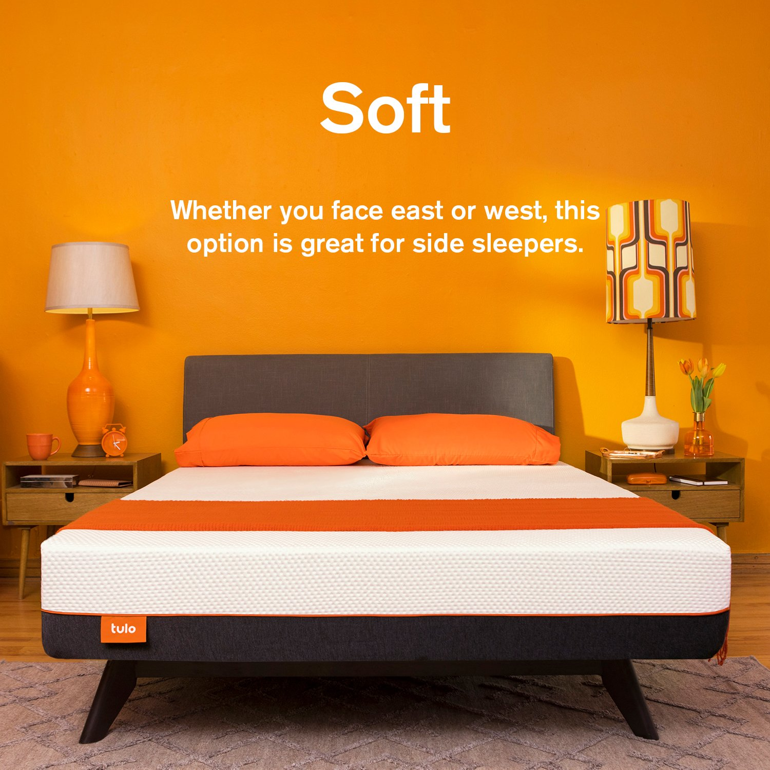 Amazon.com: Mattress by tulo, Pick your Comfort Level, Soft Full Size 10