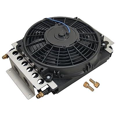 Derale 13700 Electra-Cool Remote Cooler,Black: Automotive [5Bkhe2012111]