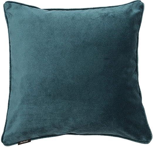 McAlister Textiles - Fundas de cojín y Mantas, latón, Azul ...