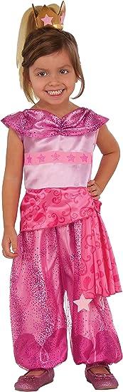 Rubies 510301S Shimmer and Shine Leah Genie - Disfraz infantil ...