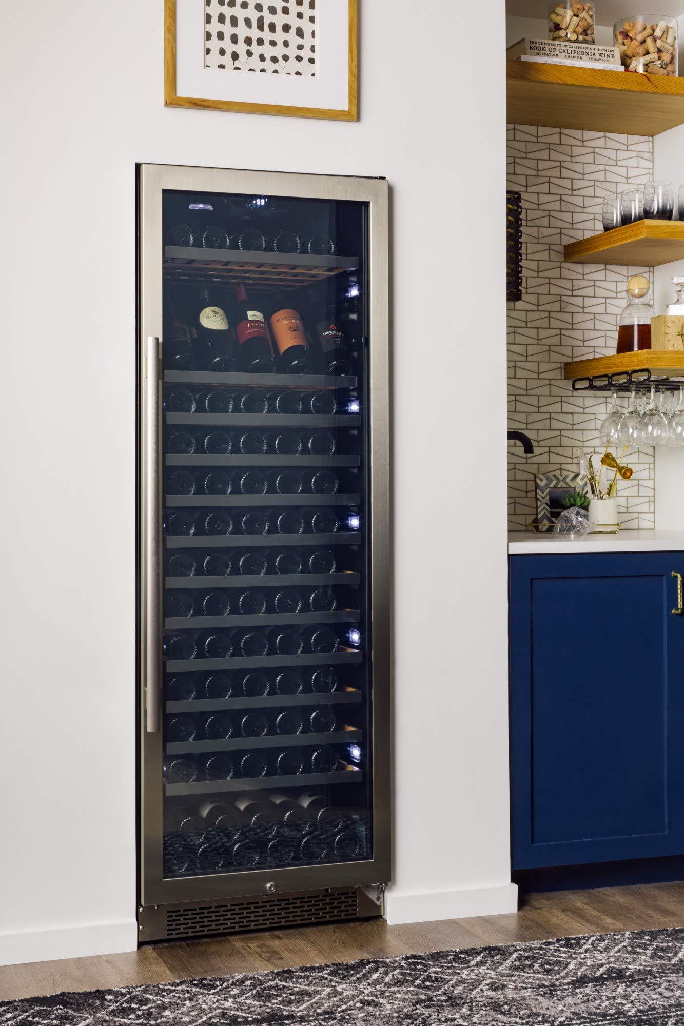 Avallon AWC241TSZRH 151 Bottle Built-In Wine Cooler - Right Hinge