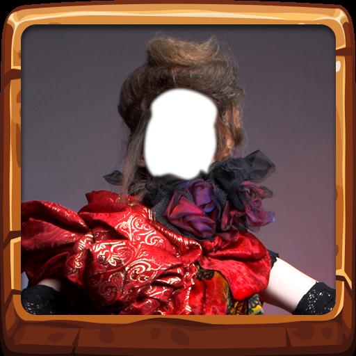 Woman Costume Photo Montage
