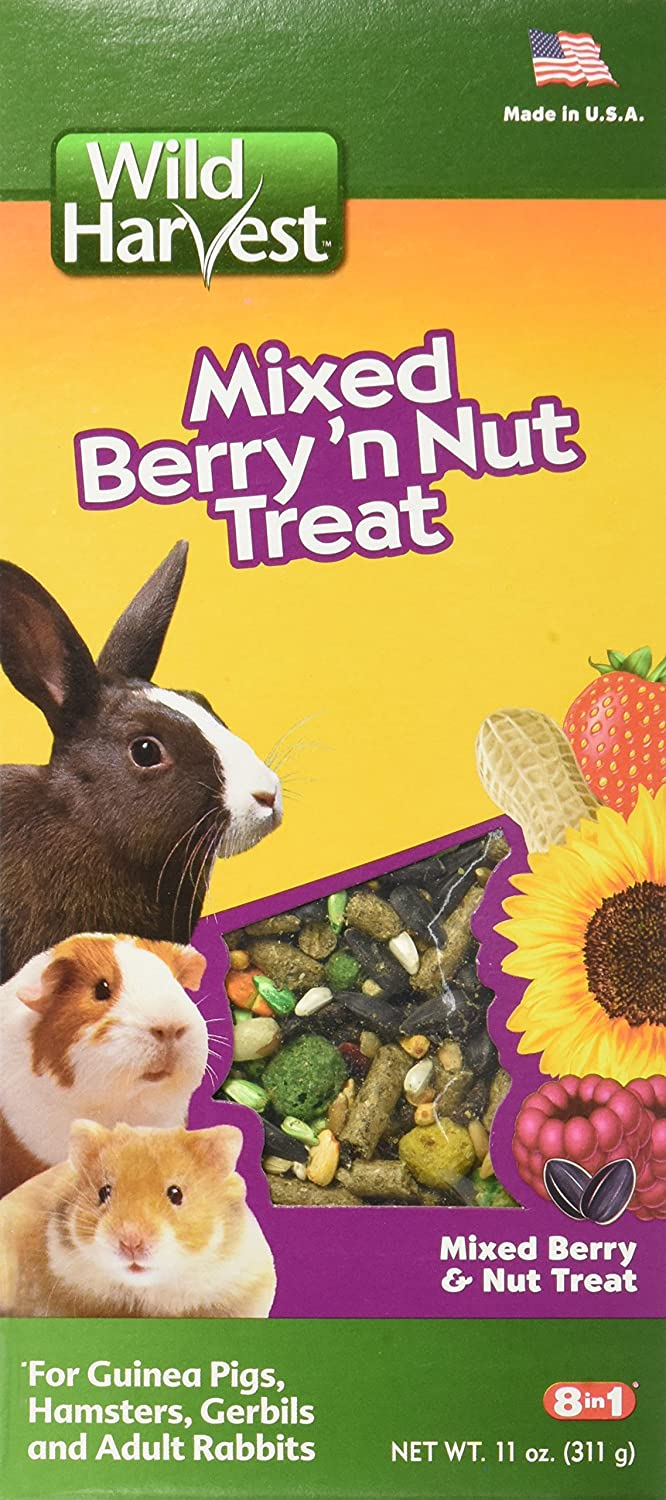 Wild Harvest Wild Berry And Nut Treat For Small Animals
