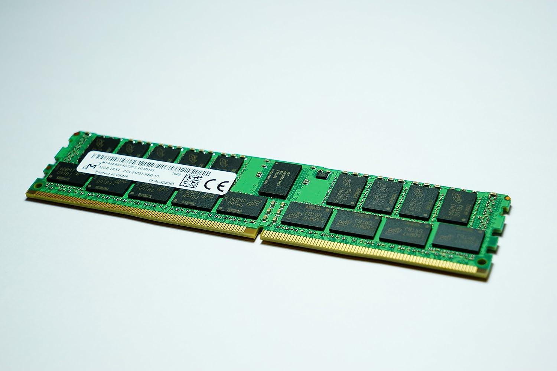 Micron 32GB PC4-19200 DDR4-2400MHz ECC Registered CL17 288-Pin DIMM 1.2V Dual Rank Memory Module Mfr P/N MTA36ASF4G72PZ-2G3B1