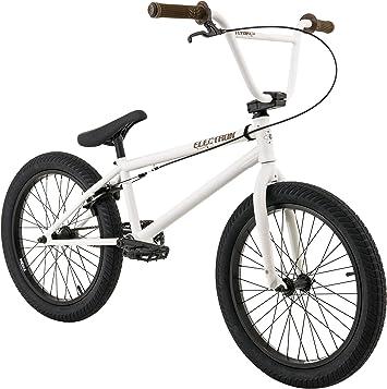 FLYBIKES Electron 2016 Bicicleta BMX, Unisex Adulto, Blanco, M ...