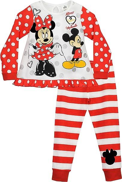 Minnie Mouse Pigiama a Maniche Lunghe per Ragazze Disney Topolina