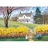 Bits and Pieces 500 Piece Jigsaw Puzzle -Spring Ahead - Scenic Spring - by Artist John Sloane - 500 pc Jigsaw