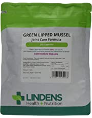 Lindens Green Lipped Mussel 500mg Capsules | 360 Pack | Joint Care Formula in Convenient, Rapid Release Capsules