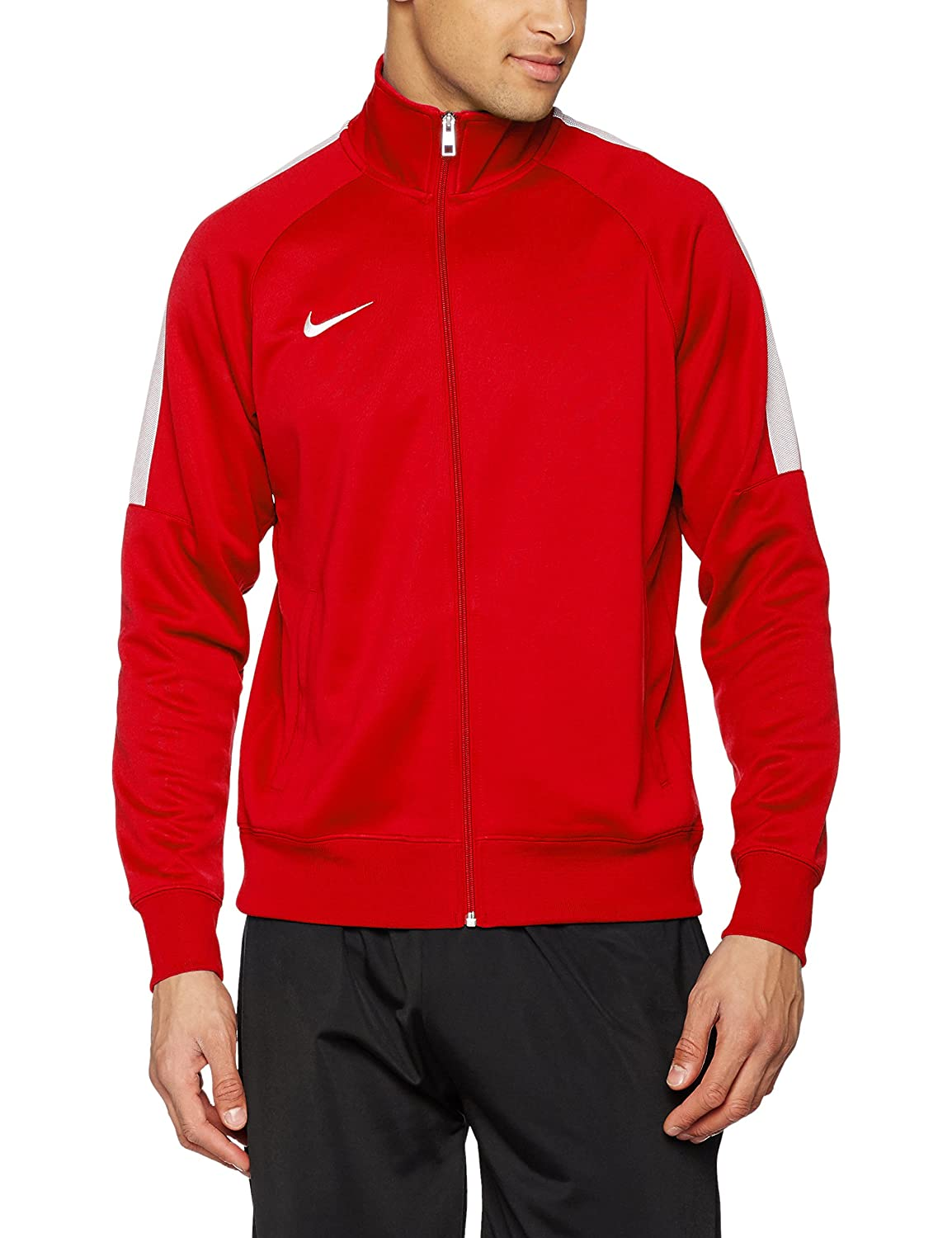 Nike Team Club Trainer Jacket, Farbe schwarz football white