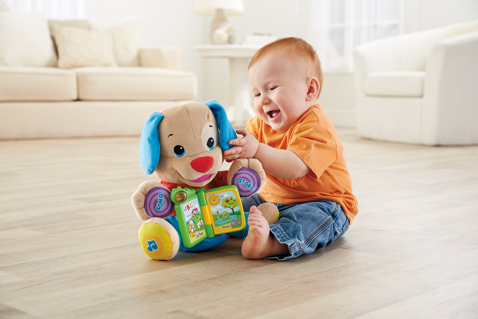 Fisher-Price Laugh & Learn Singin' Storytime Puppy by Fisher-Price (Image #6)
