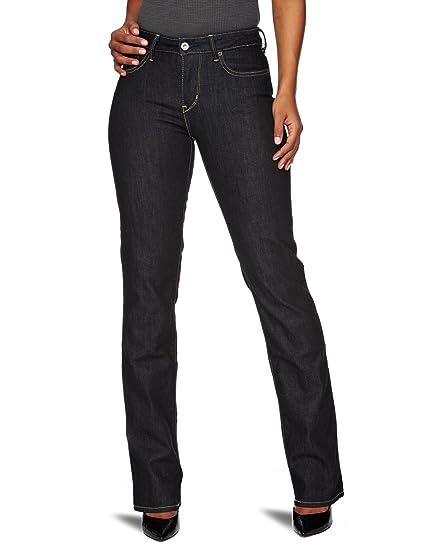 1e24c6c7 Levi's Women's Bold Curve Straight Jeans, Modern Medium Indigo, W26 ...