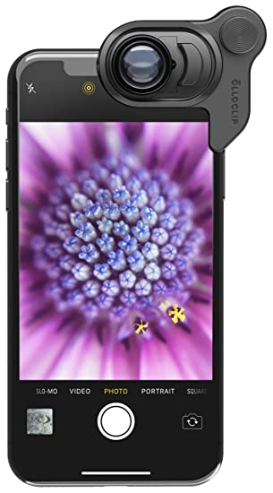 meet 47ddb 4d8bc olloclip Macro 21x Lens for iPhone XI Share beautiful macro photography and  videography with InstaFocus - Black