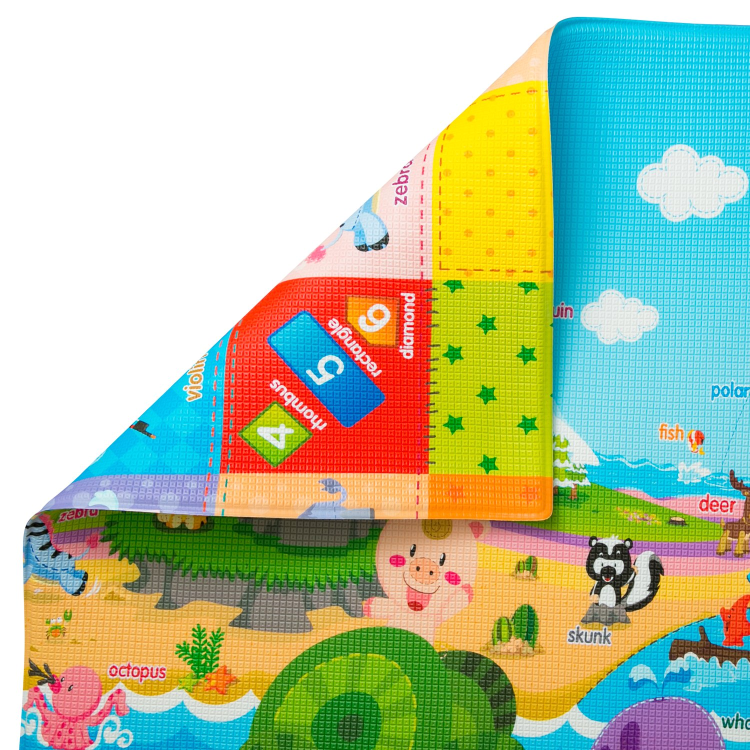 baby care play mat toxic