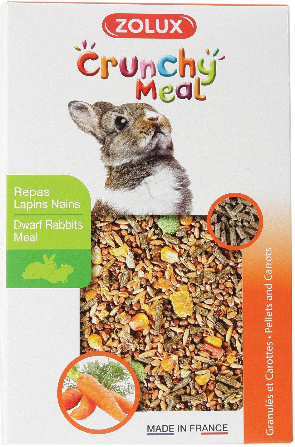 Repas complet pour lapin nain Zolux - Boîte 800 g Sélection Brico-travo