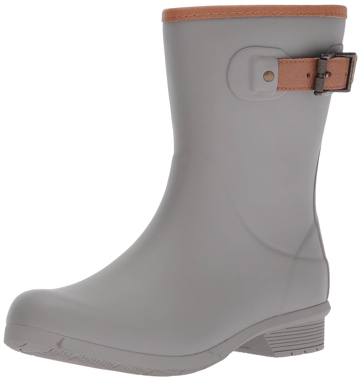 Chooka Women's Mid-Height Memory Foam Rain Boot B01N2SX4TT 8 B(M) US|Stone