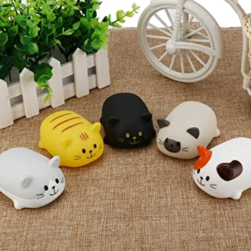 Amazon.com: Dirance 5 PCs Bath Toys Set, Summer Cartoon Cats Kitty ...