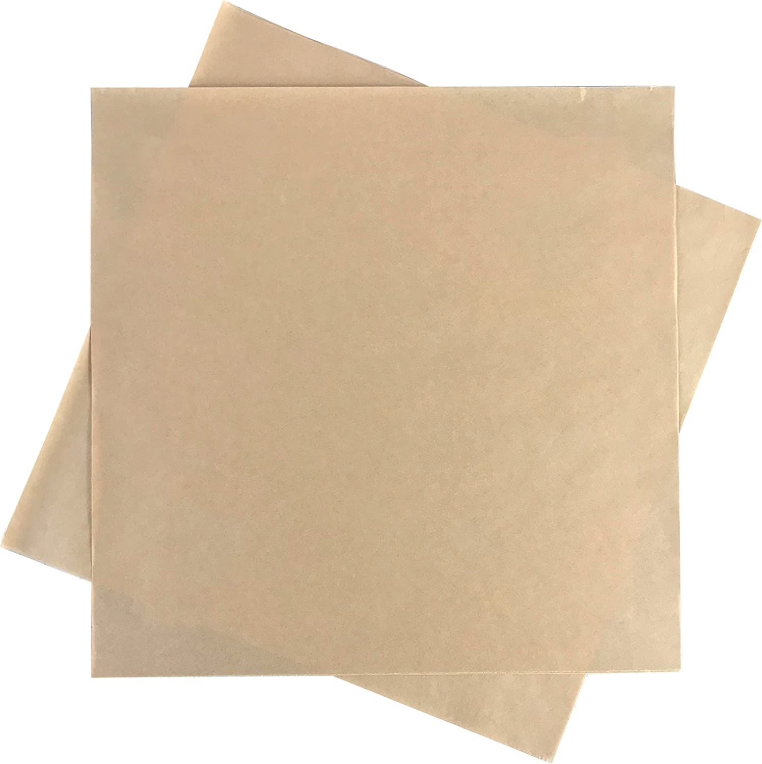 "Deli Squares - Paper Sheets (12"" x 12"") (Natural Brown - 250 Sheets)"