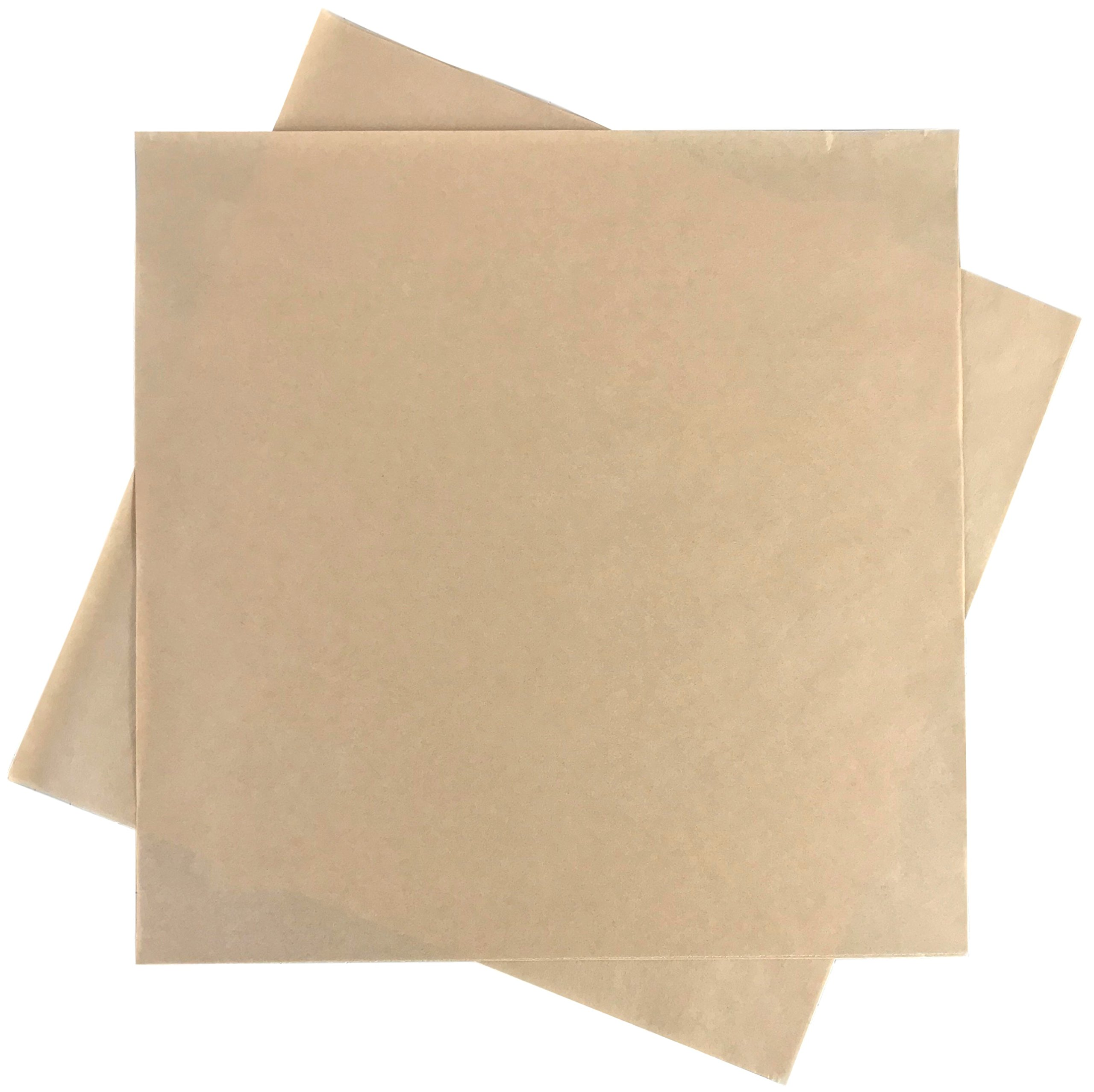 Rupert and Jeoffrey's Trading Co. Deli Squares - Paper Sheets (12'' x 12'') (Natural Brown - 250 Sheets)