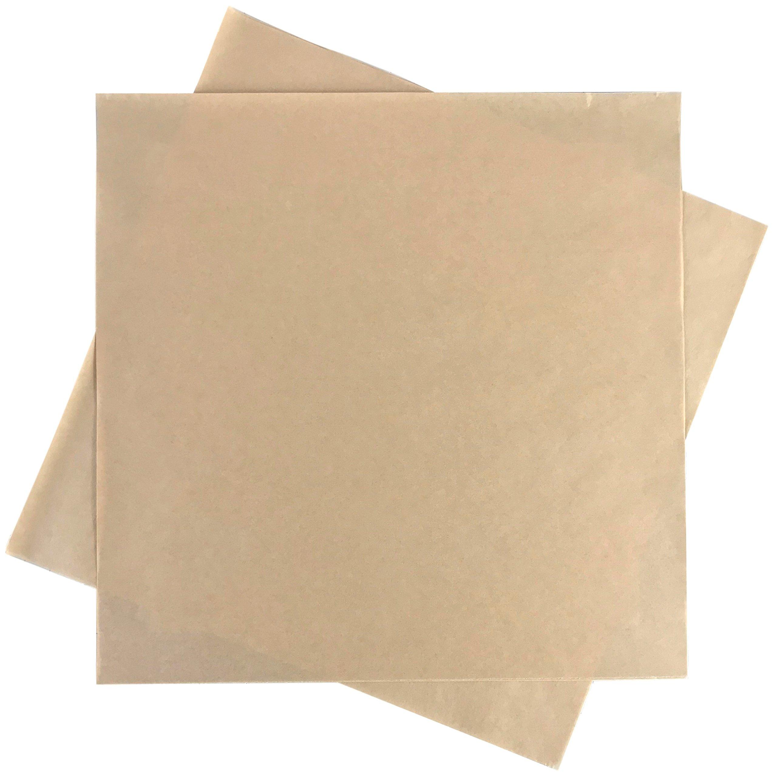 Deli Squares - Paper Sheets (12'' x 12'') (Natural Brown - 1,000 Sheets)