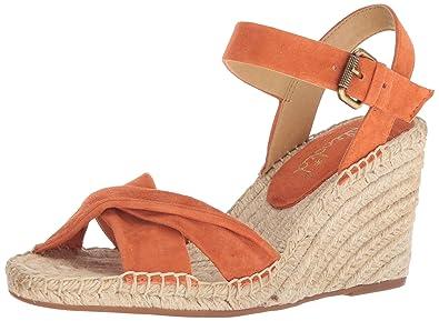 3a62d8f75 Splendid Women's Fairfax Espadrille Wedge Sandal, Coral, 6 Medium US