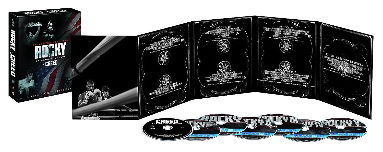 Colección Rocky/Creed Blu-Ray [Blu-ray]: Amazon.es: Sylvester Stallone, Talia Shire, Burt Young, Carl Weathers, Burgess Meredith, Michael Pataki, Rocky Krakoff, Sage ...