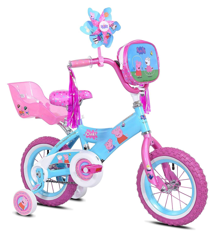 Amazon Com Peppa Pig Pinwheel Bike 12 Renewed Sports Outdoors