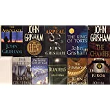 John Grisham Thriller Hardcover Collection 10 Book Set