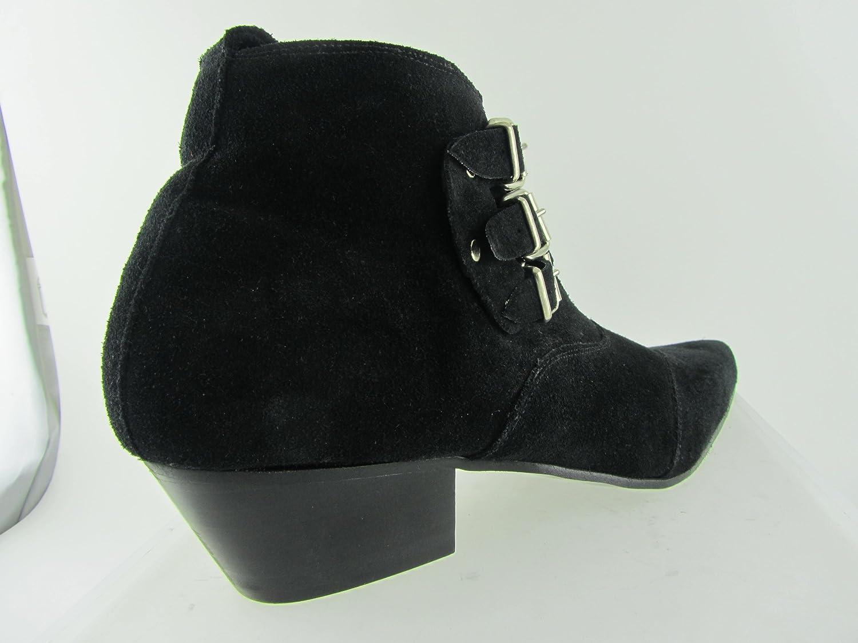 Retro Mens 3 Straps Black Suede Chelsea Beat Boots Cuban Heel Beatle  Pointed toe: Amazon.co.uk: Shoes & Bags