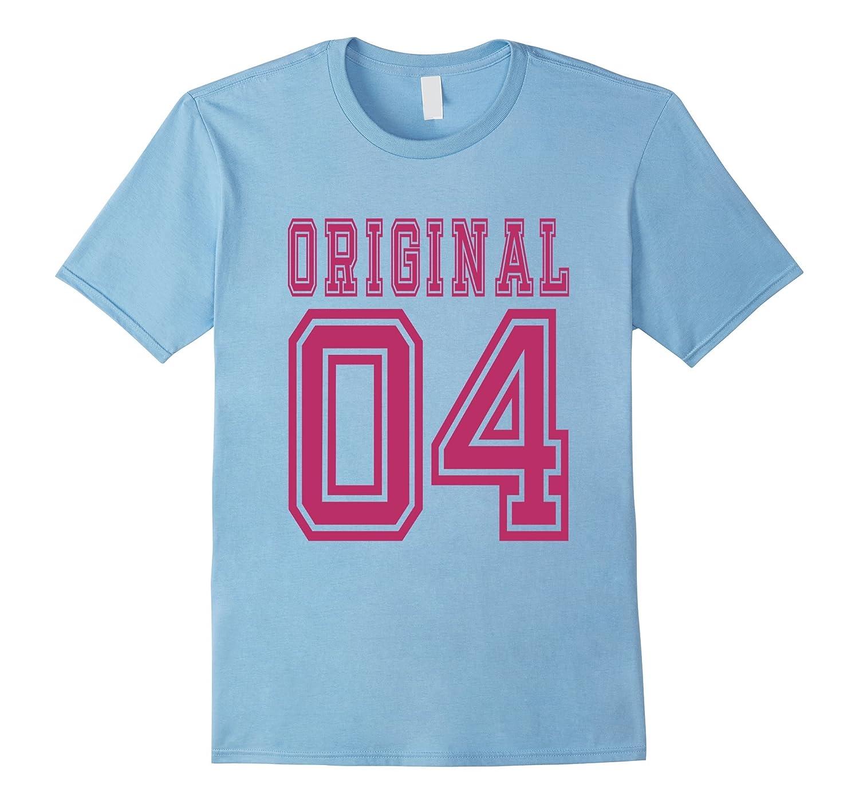 2004 T-shirt 13th Birthday Gift 13 Year Old Girl B-day Cute-PL