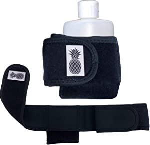 IVIBED Hidden Pocket Leg Strap Stash - Pocket Speak Easy Pick Pocket Proof First Aid