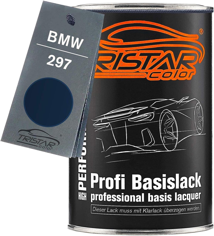 Tristarcolor Autolack Dose Spritzfertig Für Bmw 297 Montrealblau Metallic Basislack 1 0 Liter 1000ml Auto