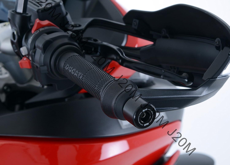 Motodak Embouts de Guidon R/&G Racing Noir Ducati Multistrada 950