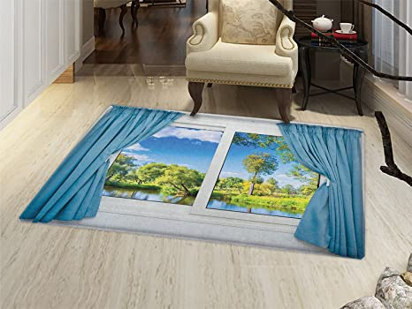 Amazon Country Door Mats For Inside Rural View From The Window