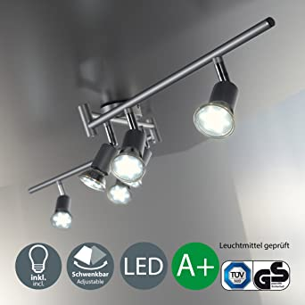 Led ceiling light rotatable i spotlight for kitchen living room led ceiling light rotatable i spotlight for kitchen living room bedroom i fitted ceiling aloadofball Image collections