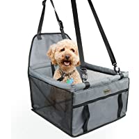 Zellar Pet Car Booster Seat For Small Dogs Cats Breathable Waterproof Dog Cat