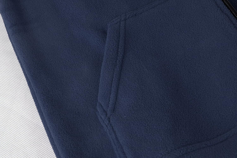 iLoveSIA Big Boys Spring Warm Full Zip Fleece Jacket 5471