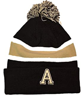 purchase cheap 1f53b 4c788 ... netherlands army black knights 2 sided whirl beanie hat pom pom ncaa  cuffed 0df19 1ad79