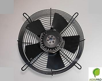 ventilador Axial ventilador DN 450 mm aspirante w 230 monofásico: Amazon.es: Bricolaje y herramientas