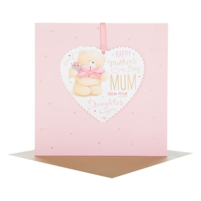 Medium Hallmark 25459384 Forever Friends Mum Mothers Day Card Pampering